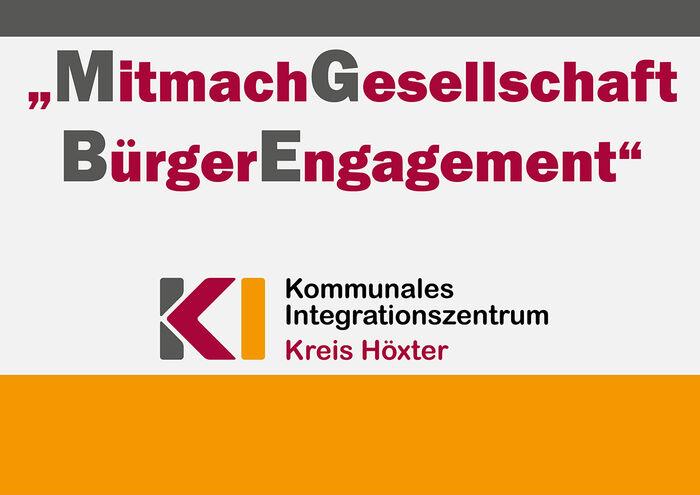 Plakat MitmachGesellschaft BürgerEngagement