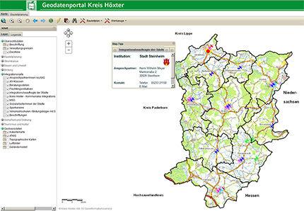 Geodaten Integrationskarte